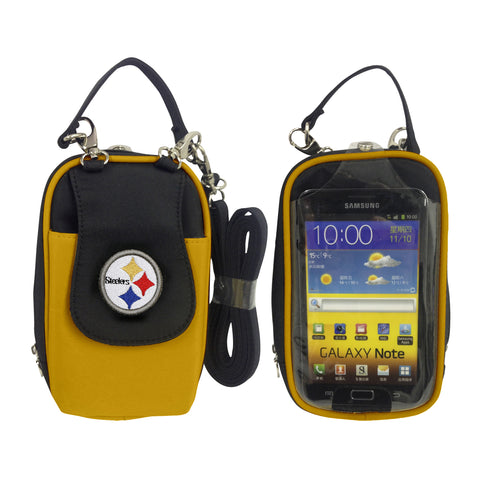 NFL Pittsburgh Steelers PursePlus XL with Touchscreen - Charm14