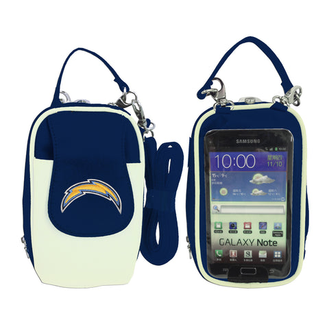 Los Angeles Chargers Cell Phone Purse XL- Fits all phones