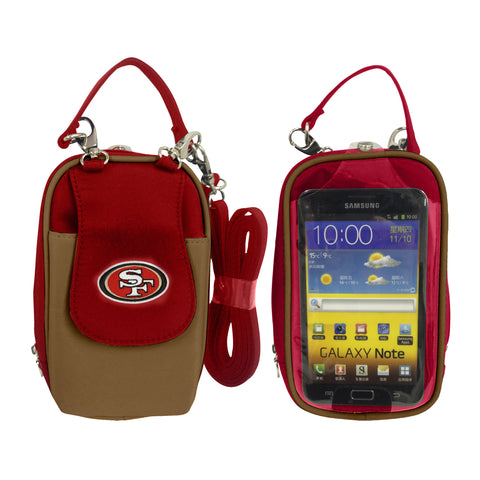 San Francisco 49ers Cell Phone Purse XL- Fits all phones