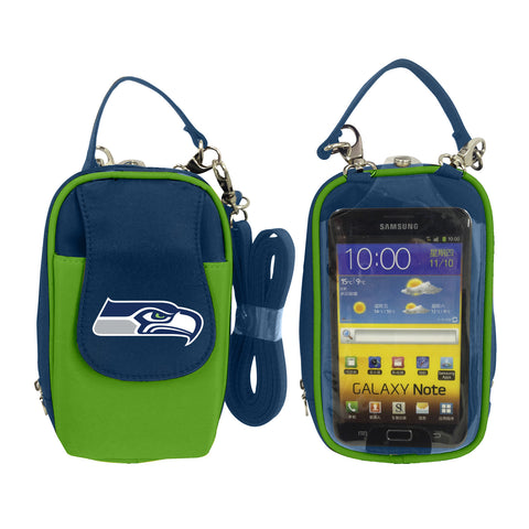 Seattle Seahawks Cell Phone Purse XL- Fits all phones