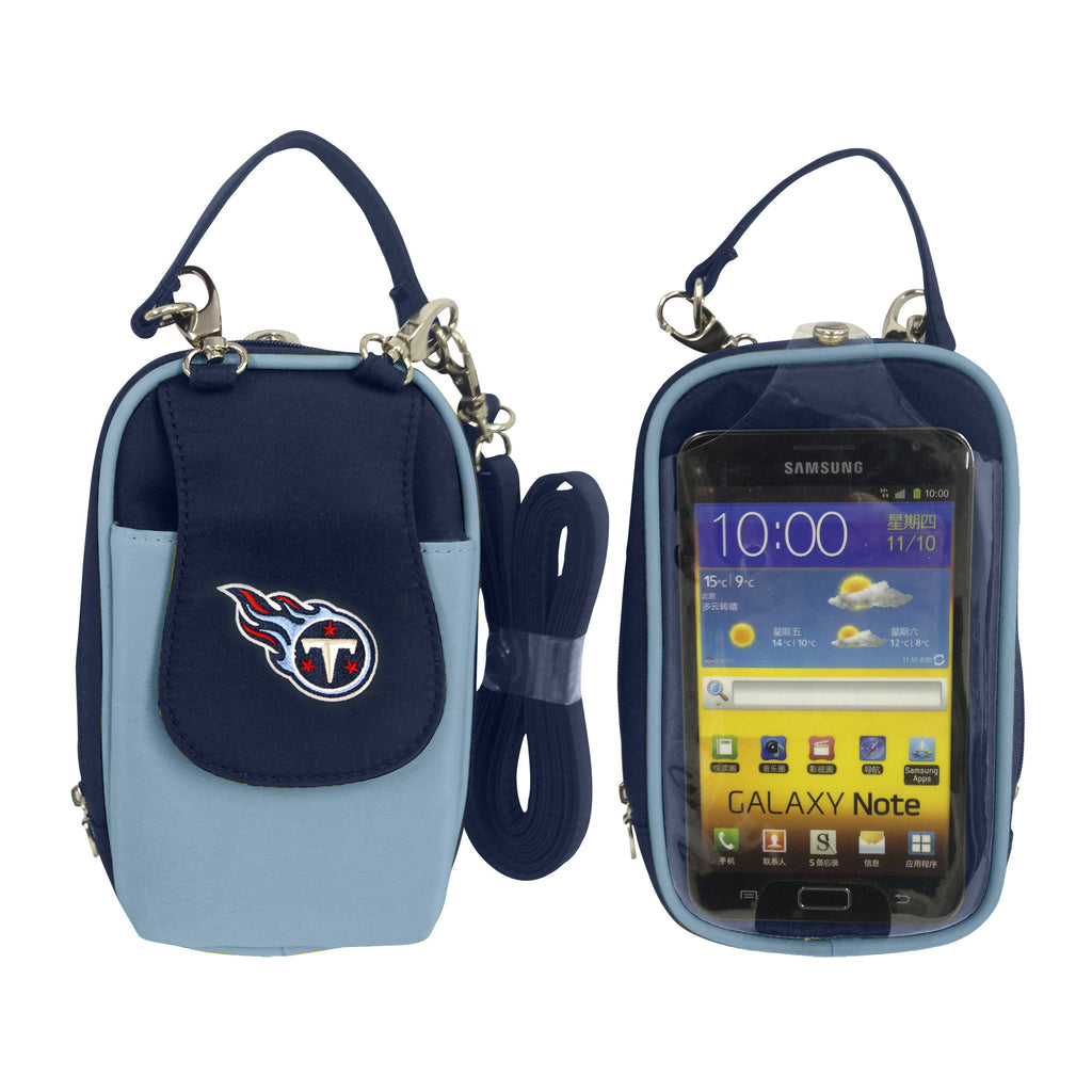 NFL Tennessee Titans PursePlus XL with Touchscreen - Charm14