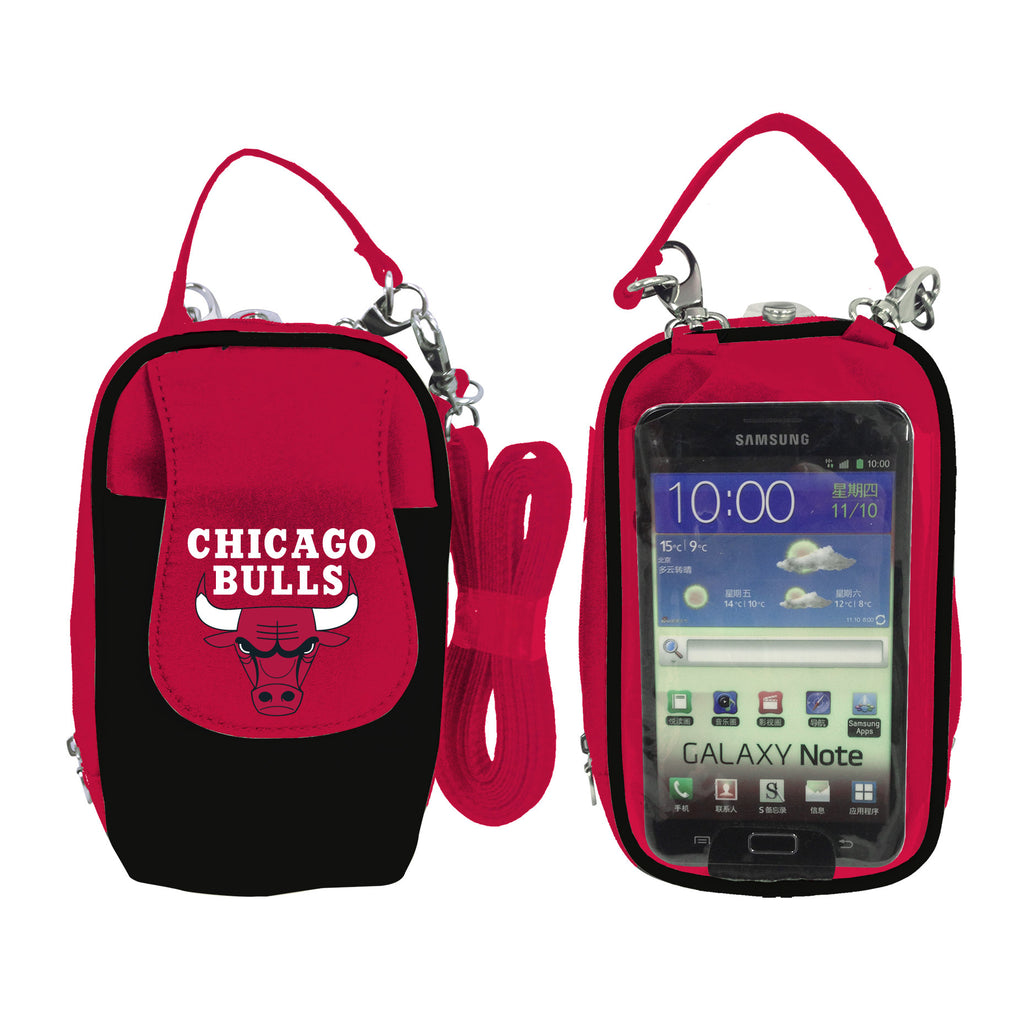 Chicago Bulls Cell Phone Purse XL- Fits all phones