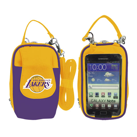 Los Angeles Lakers Cell Phone Purse XL- Fits all phones