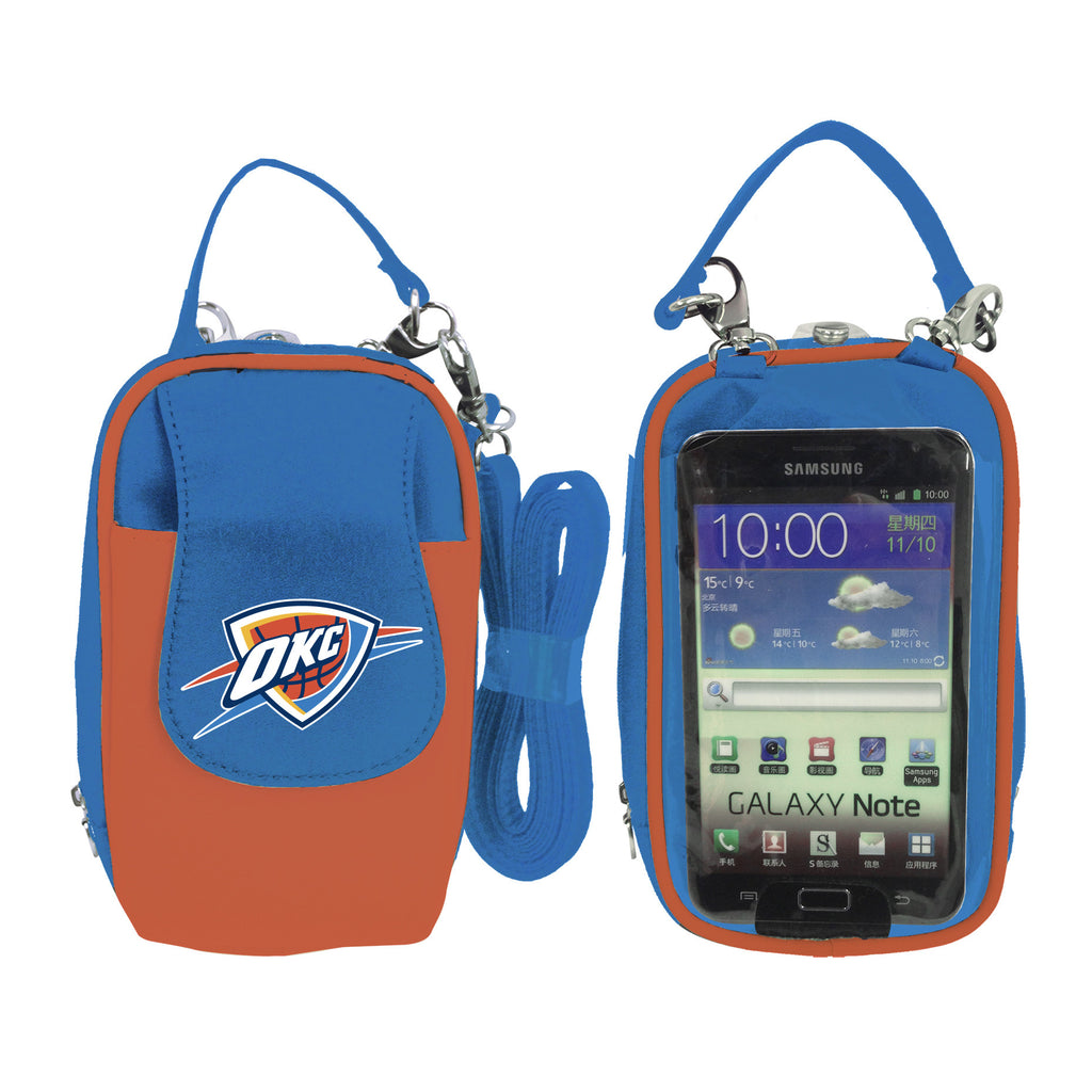 Oklahoma City Thunder  Cell Phone Purse XL- Fits all phones