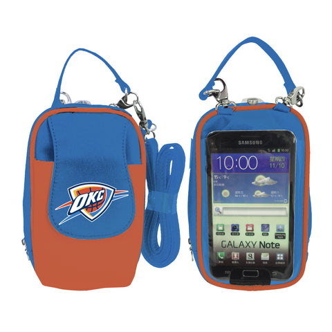 Oklahoma City Thunder -NBA- PursePlus XL with Touchscreen - Charm14