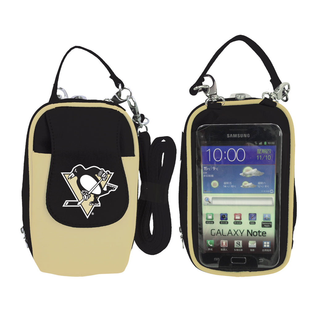 Pittsburgh Penguins -NHL- PursePlus XL with Touchscreen - Charm14