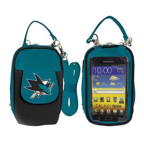 San Jose Sharks -NHL- PursePlus XL with Touchscreen - Charm14