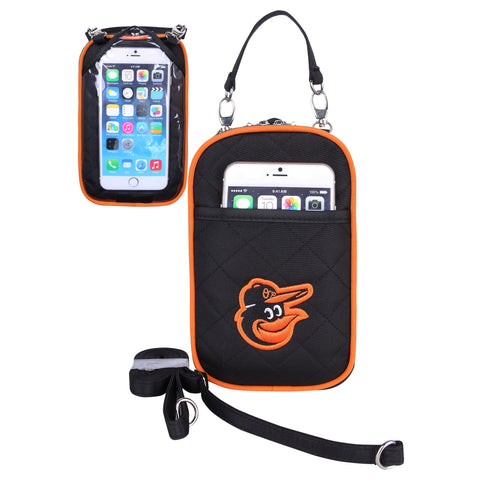 Baltimore Orioles Cell Phone Purse Plus Quilt