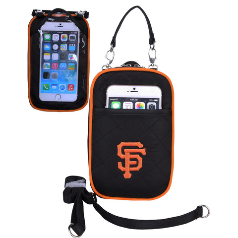 San Francisco Giants Cell Phone Purse Plus Quilt