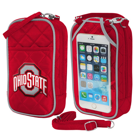 Ohio State Buckeyes Cell Phone Purse-Quilt-Ohio Stadium Size - Charm14