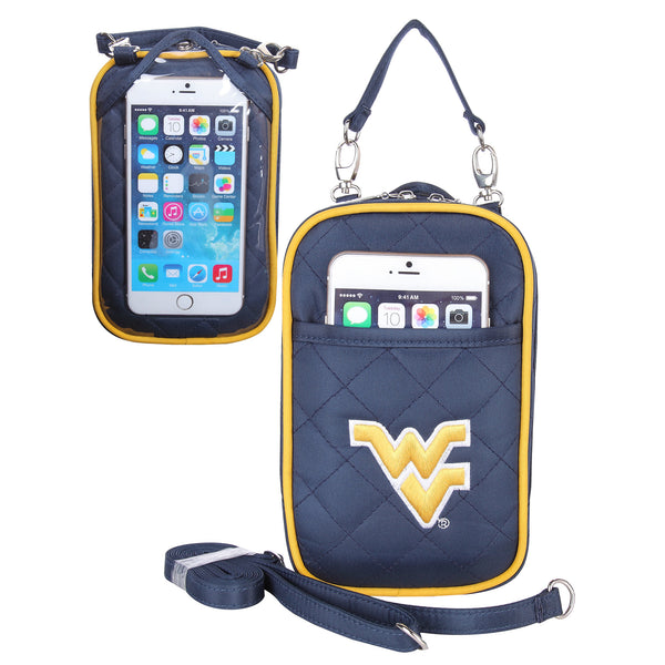 NCAA Cell Phone Purse Plus Quilt - Charm14