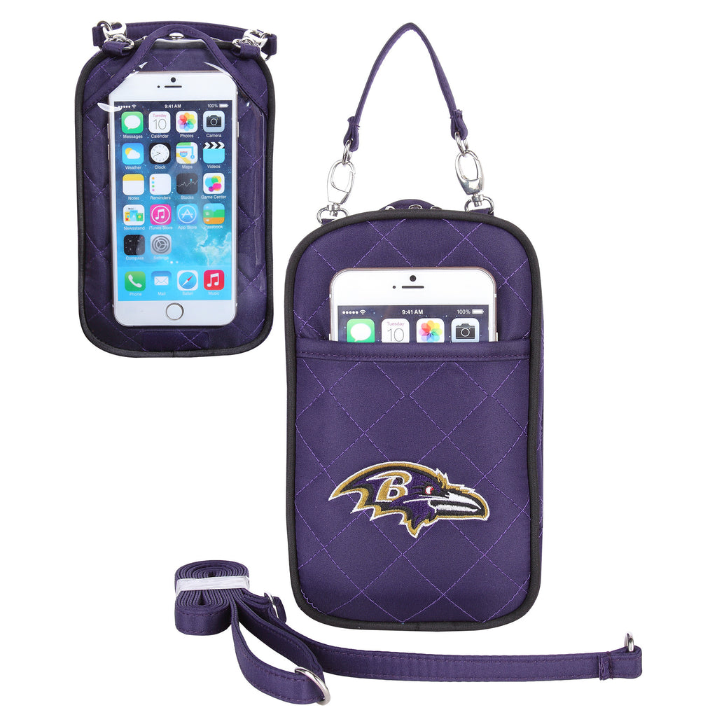 Baltimore Ravens Cell Phone Purse Plus Quilt