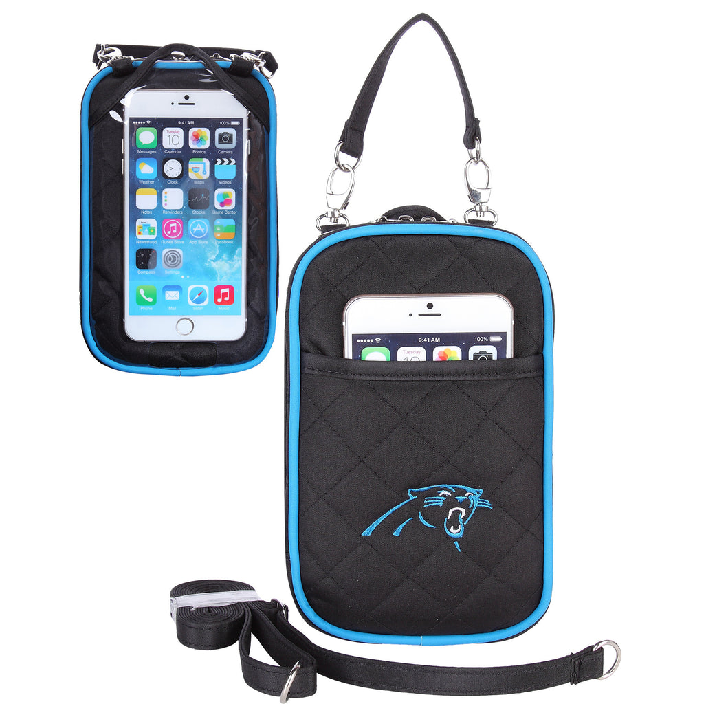 Carolina Panthers Cell Phone Purse Plus Quilt - Charm14