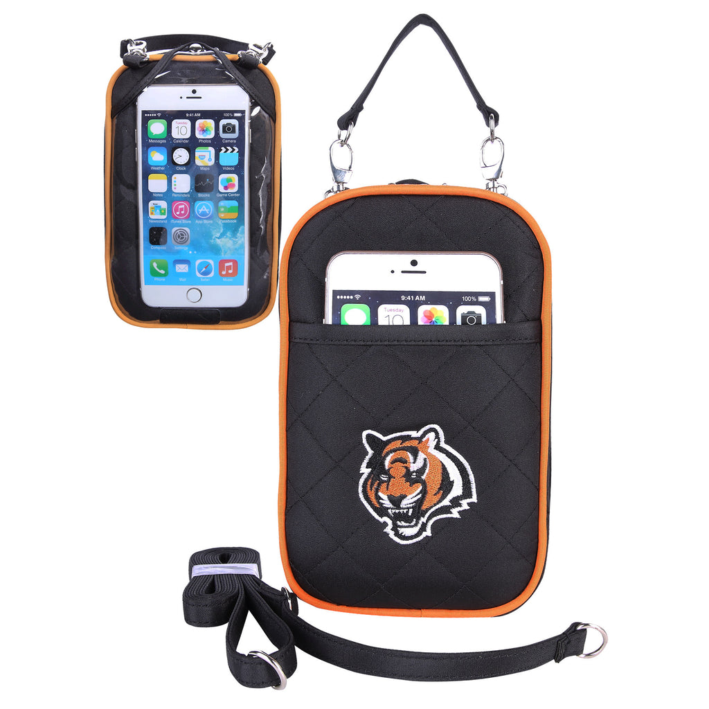 Cincinnati Bengals Cell Phone Purse Plus Quilt