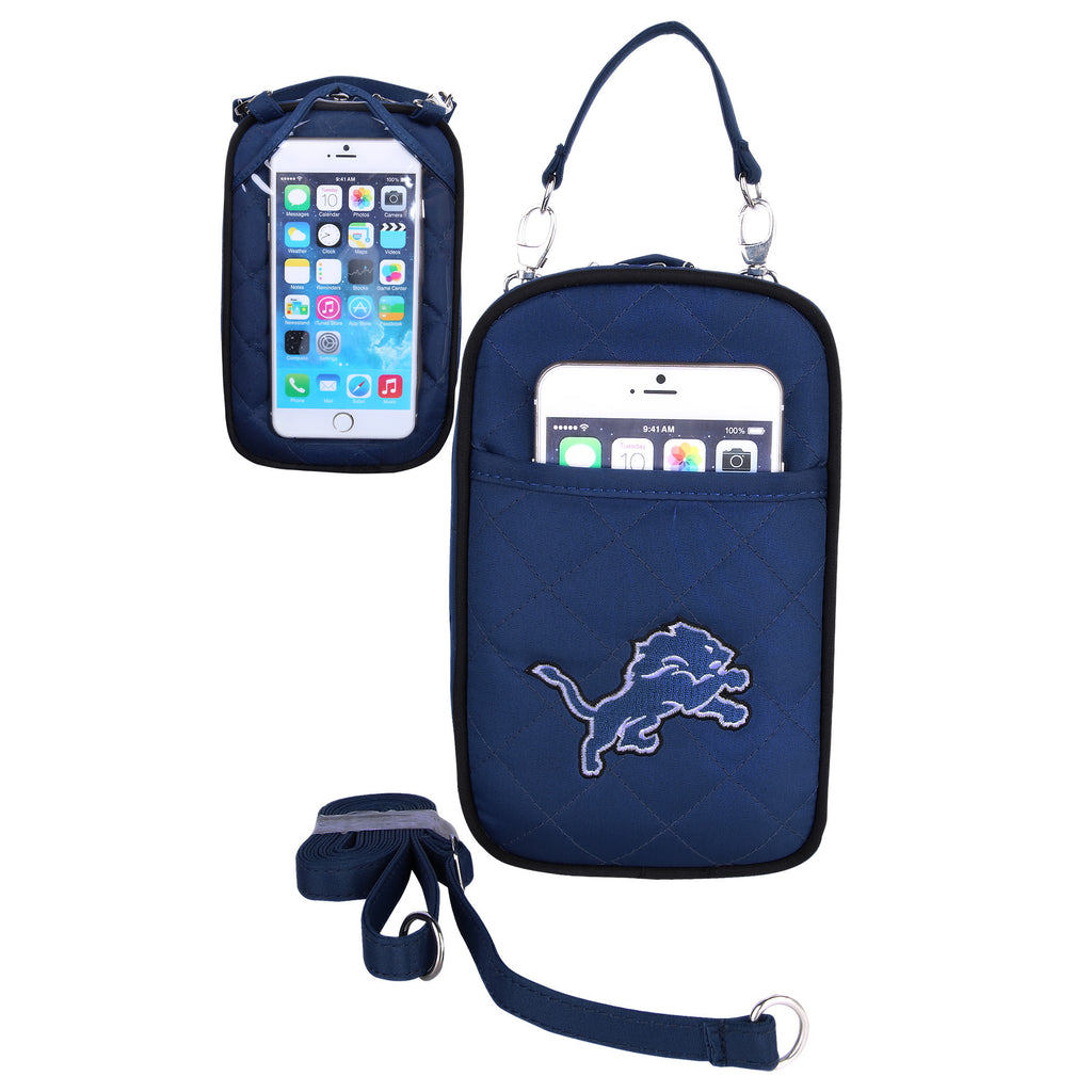 Detroit Lions Cell Phone Purse Plus Quilt