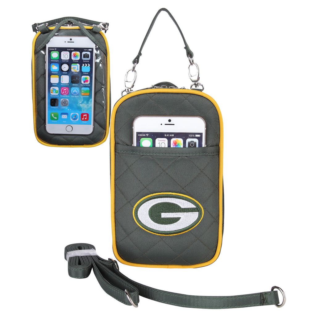 Green Bay Packers Cell Phone Purse Plus Quilt - Charm14