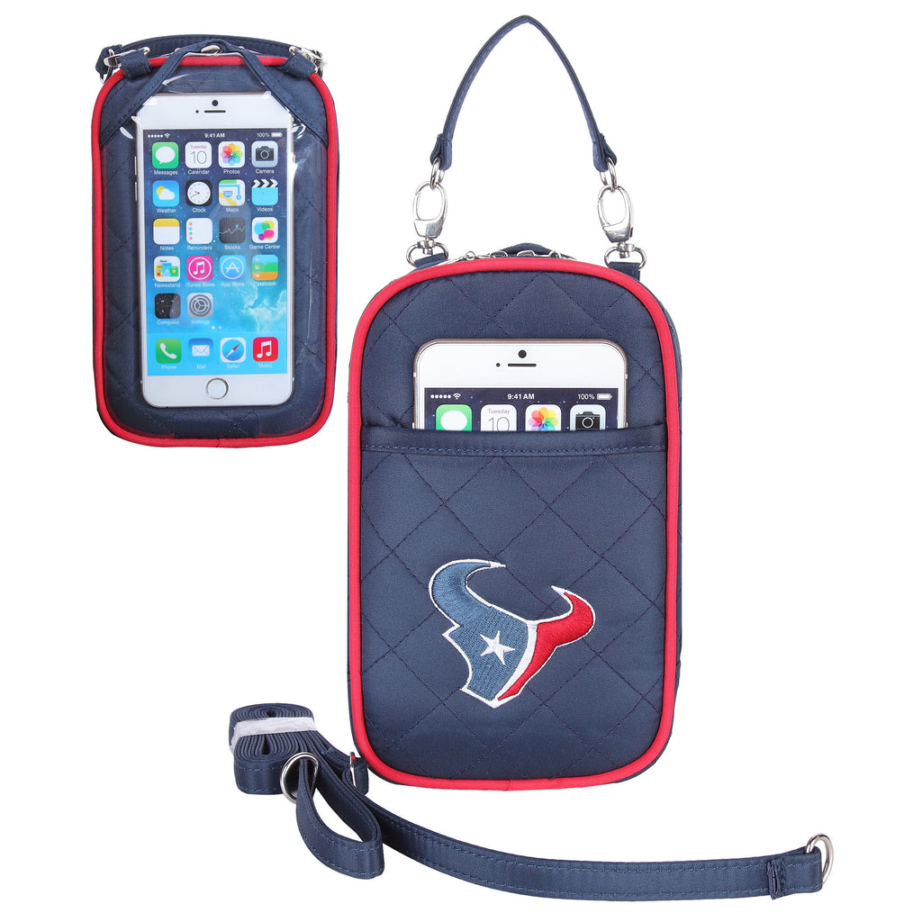 Houston Texans Cell Phone Purse Plus Quilt - Charm14