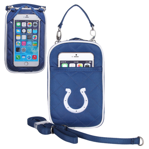 Indianapolis Colts Cell Phone Purse Plus Quilt - Charm14