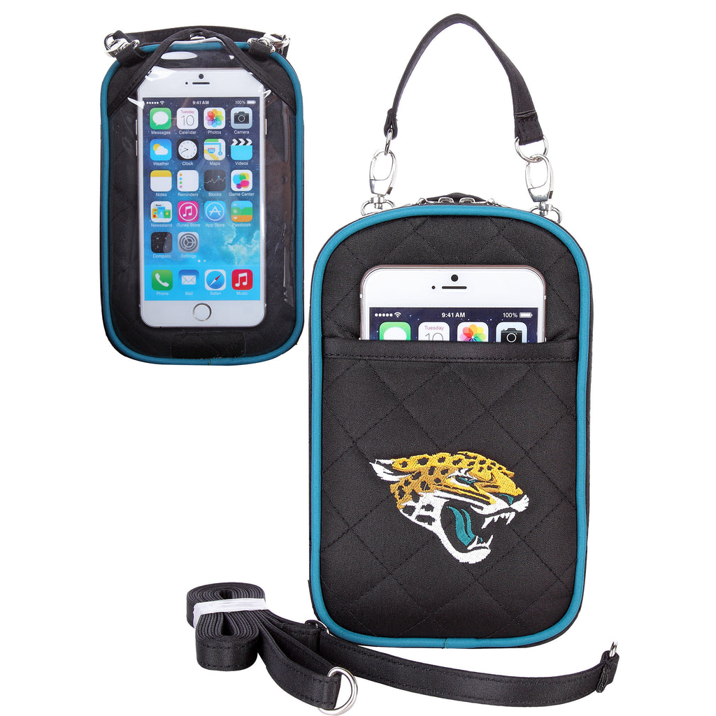Jacksonville Jaguars Cell Phone Purse Plus Quilt - Charm14
