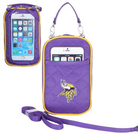 Minnesota Vikings Cell Phone Purse Plus Quilt