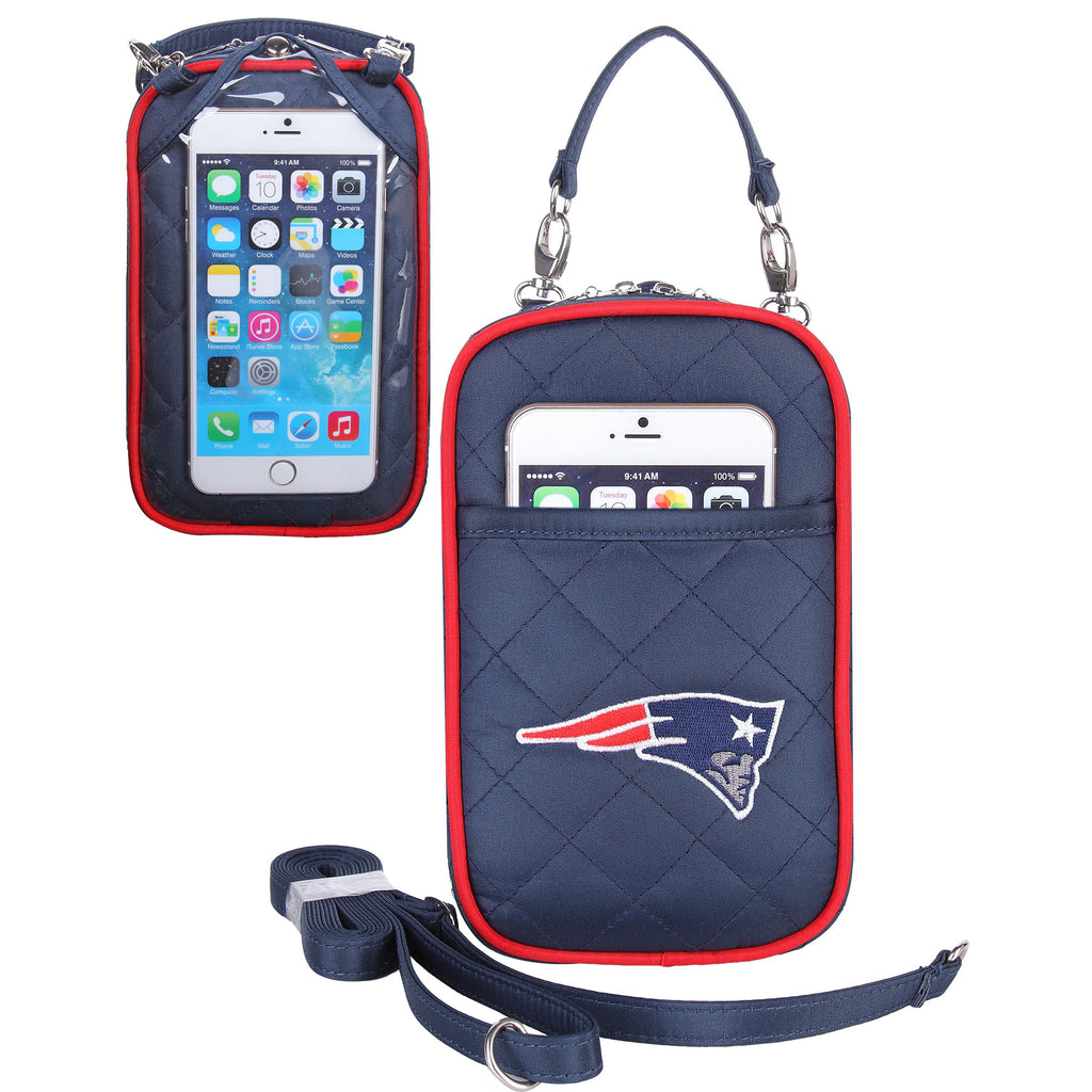 New England Patriots Cell Phone Purse Plus Quilt - Charm14