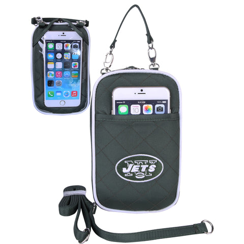 New York Jets Cell Phone Purse Plus Quilt