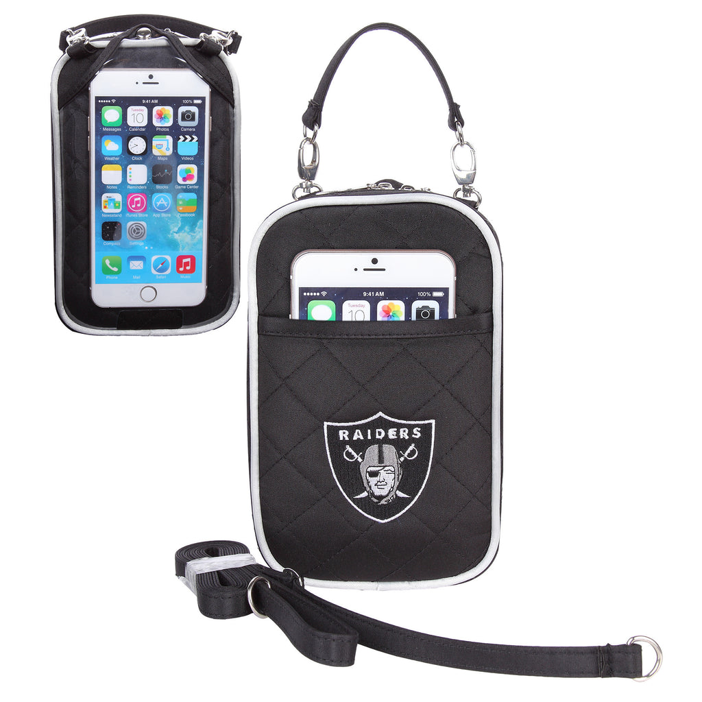 Oakland Raiders Cell Phone Purse Plus Quilt - Charm14