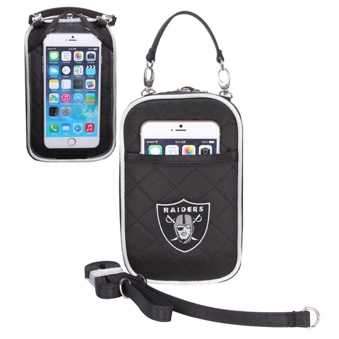 Oakland Raiders Cell Phone Purse Plus Quilt