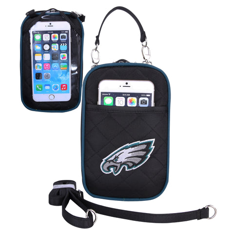 Philadelphia Eagles Cell Phone Purse Plus Quilt - Charm14