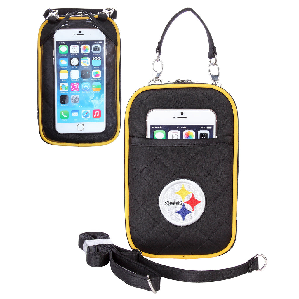 Pittsburgh Steelers Cell Phone Purse Plus Quilt - Charm14