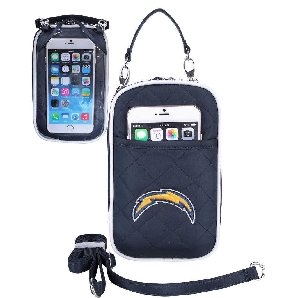 NFL Los Angeles Chargers Cell Phone Purse Plus Quilt - Charm14