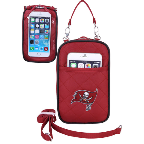 Tampa Bay Buccaneers Cell Phone Purse Plus Quilt - Charm14