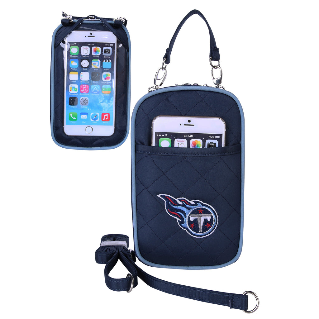 Tennessee Titans Cell Phone Purse Plus Quilt - Charm14