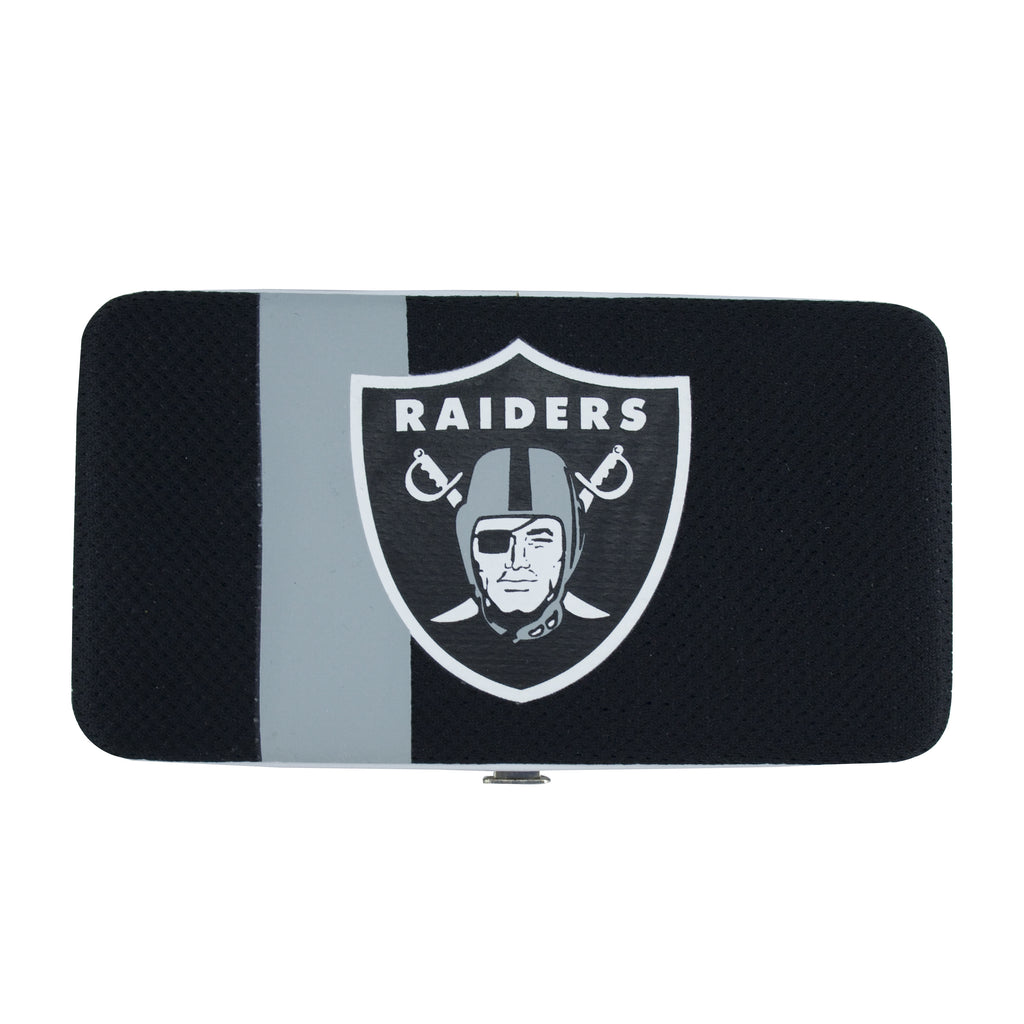 Oakland Raiders Shell Mesh Wallet - Charm14