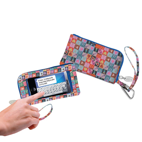 Quilt Made With Love Smartphone Wristlet - Charm14