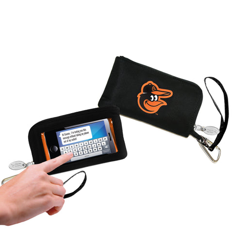 Baltimore Orioles Cell Phone Wallet / Wristlet