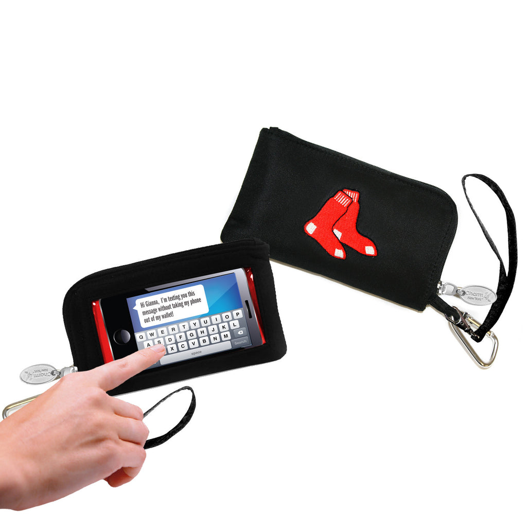 Boston Red Sox Cell Phone Wallet / Wristlet - Charm14