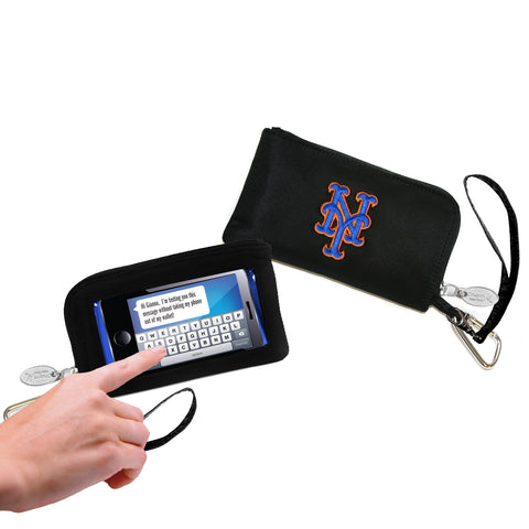 MLB Cell Phone Wallet/Wristlet-Embroidered Logo - Charm14