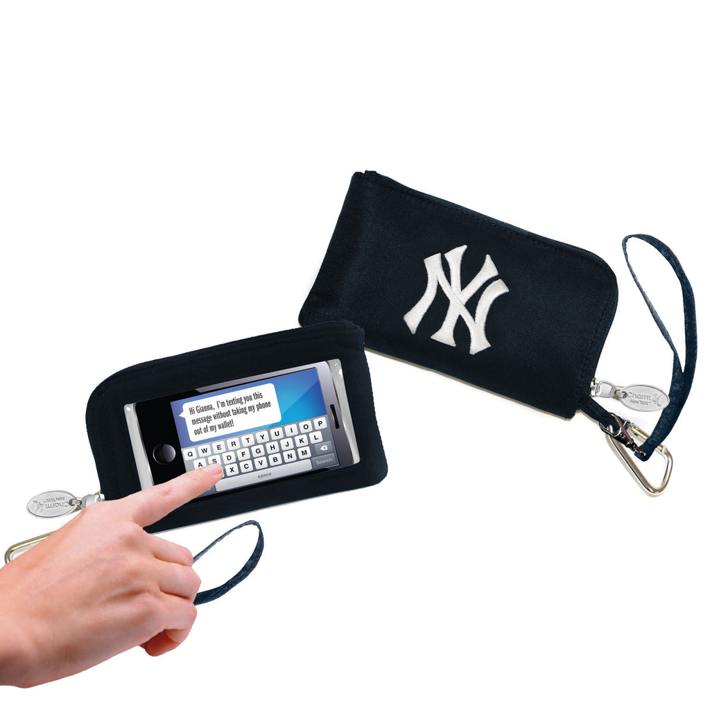 New York Yankees Cell Phone Wallet / Wristlet - Charm14