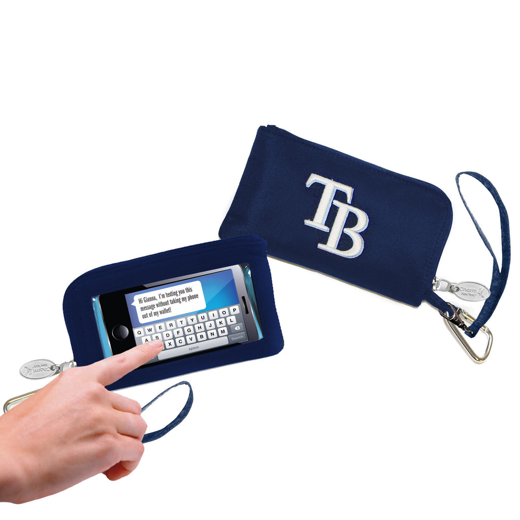 Tampa Bay Rays Cell Phone Wallet / Wristlet - Charm14