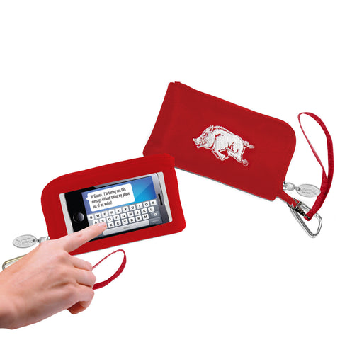 Arkansas Razorbacks Cell Phone Wallet / Wristlet - Charm14