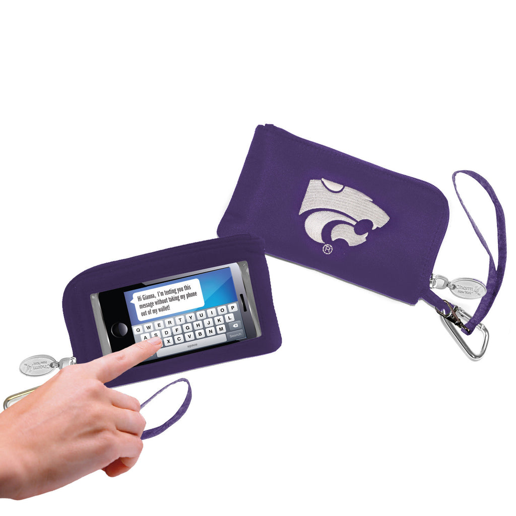 Kansas State Wildcats Cell Phone Wallet / Wristlet - Charm14