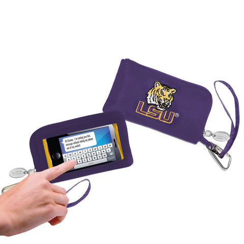 NCAA LSU Tigers Cell Phone Wallet / Wristlet