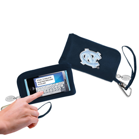 North Carolina Tar Heels Cell Phone Wallet / Wristlet - Charm14