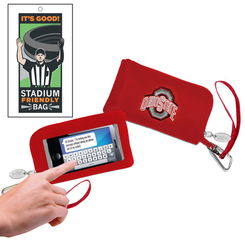 Ohio State Buckeyes Cell Phone Wallet-Stadium Entry Size - Charm14
