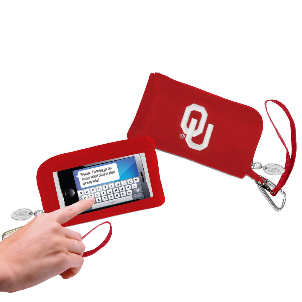 Oklahoma Sooners Cell Phone Wallet / Wristlet