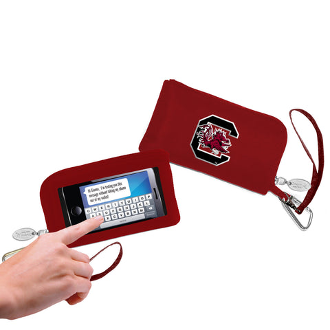South Carolina Gamecocks Cell Phone Wallet / Wristlet - Charm14