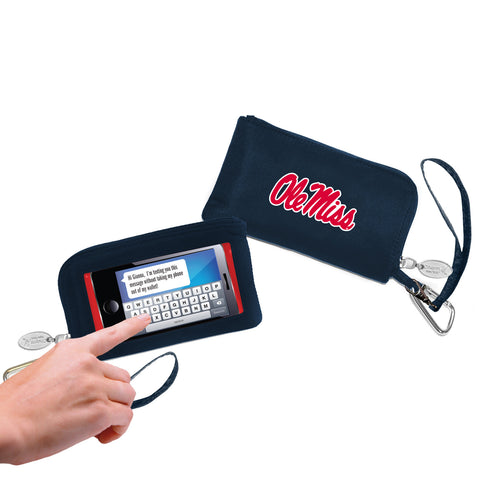 Ole Miss Rebels Cell Phone Wallet / Wristlet - Charm14