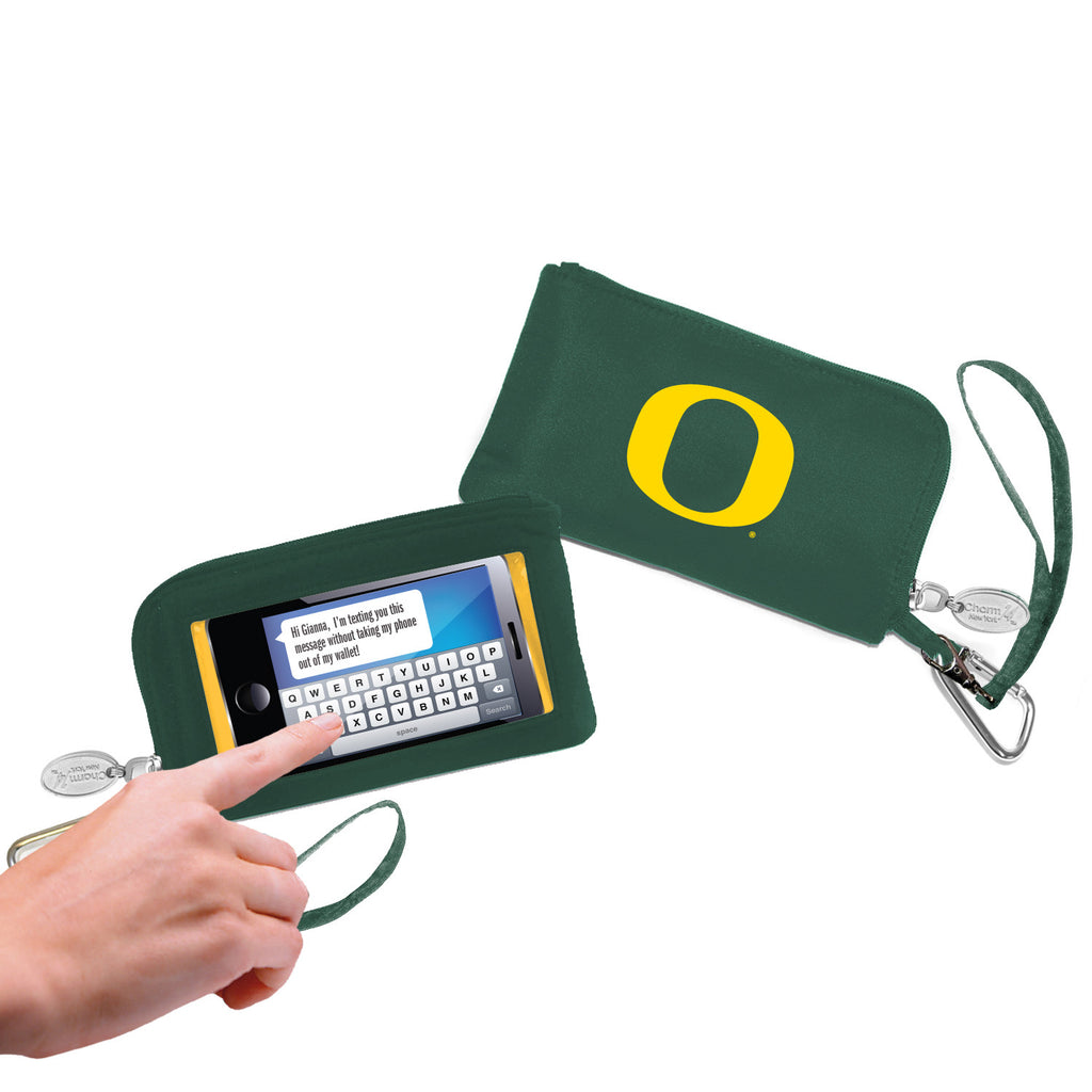 Oregon Ducks Cell Phone Wallet / Wristlet