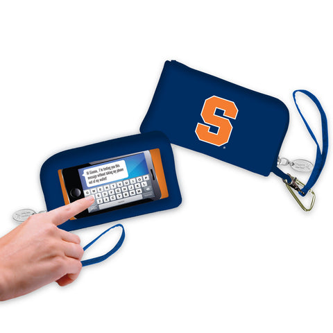 Syracuse Orange Cell Phone Wallet / Wristlet - Charm14